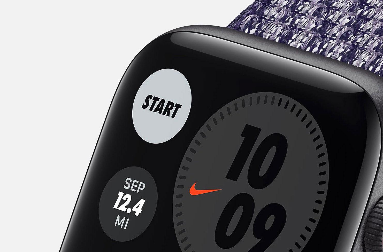Il y a une édition Nike pour l'Apple Watch SE