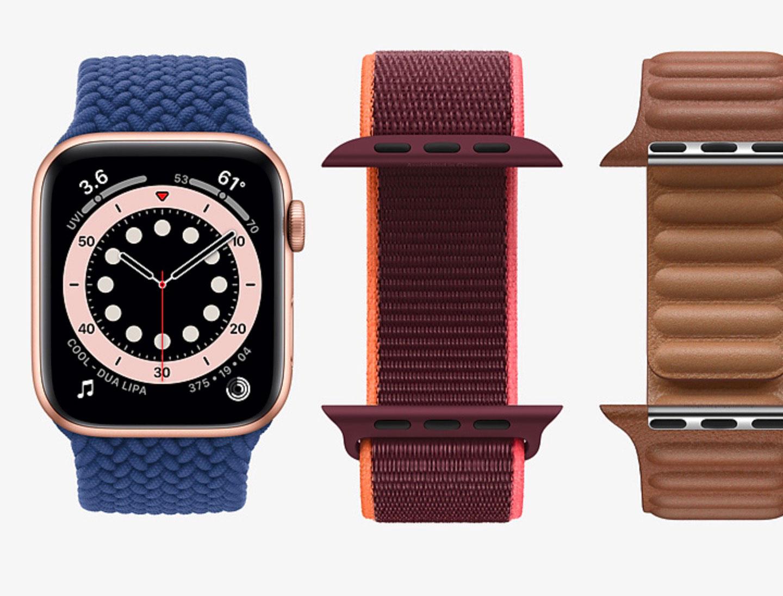 L'Apple Watch Series 6 édition Hermés