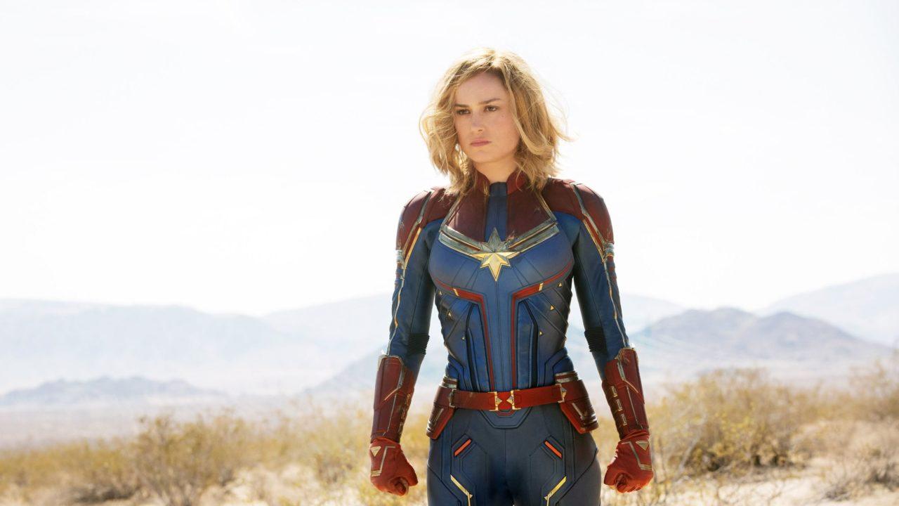Brie Larson dans Captain Marvel