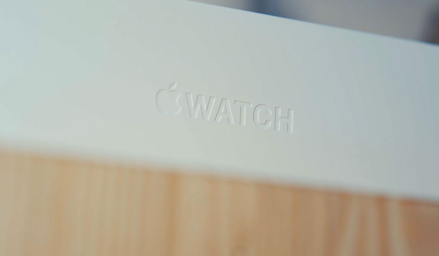 La boîte de l'Apple Watch Series 6