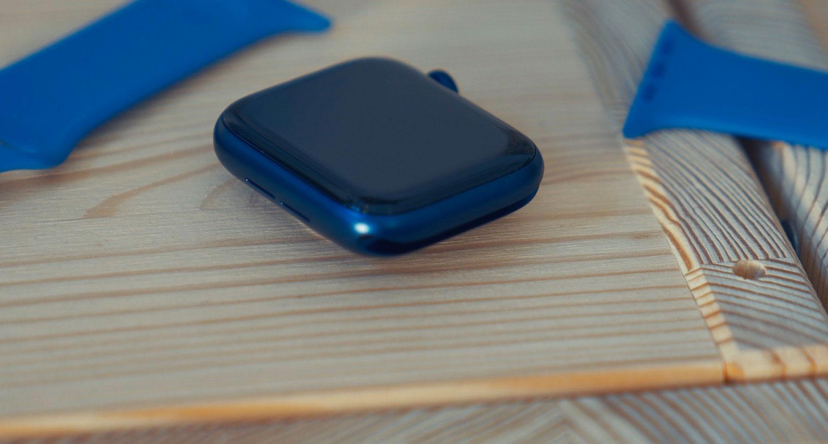 L'Apple Watch Series 6 et un de ses nombreux bracelets
