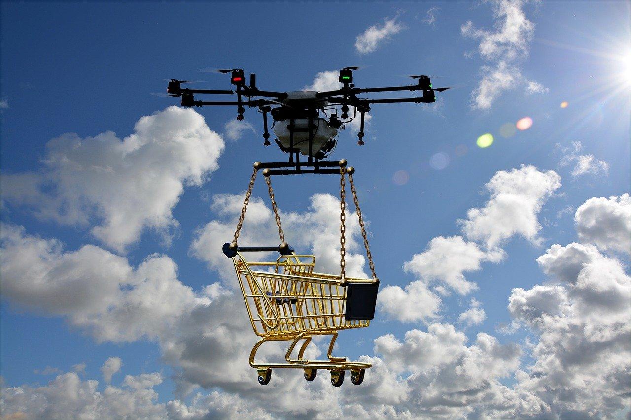 Un drone de livraison