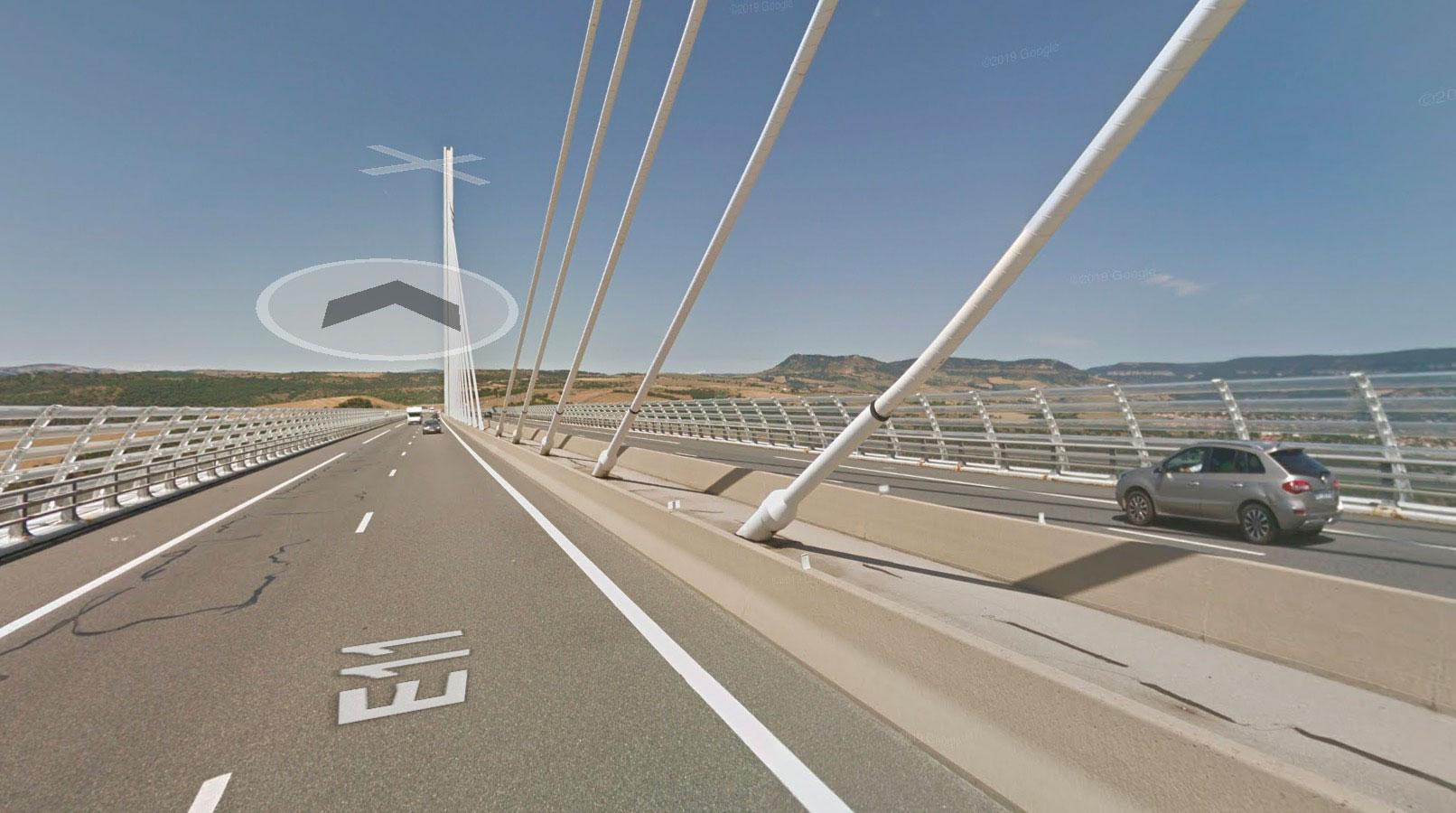 J'ai comme l'impression que le système de navigation de Google Maps est un peu en rade ici