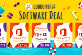 GoodOffer24 propose plein de réductions sur les clés Windows 10 et Office