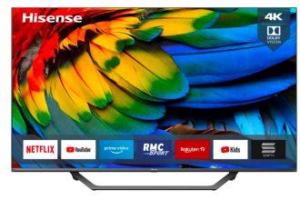 Le TV LED 4K HiSense 43A7500F a un look sympa