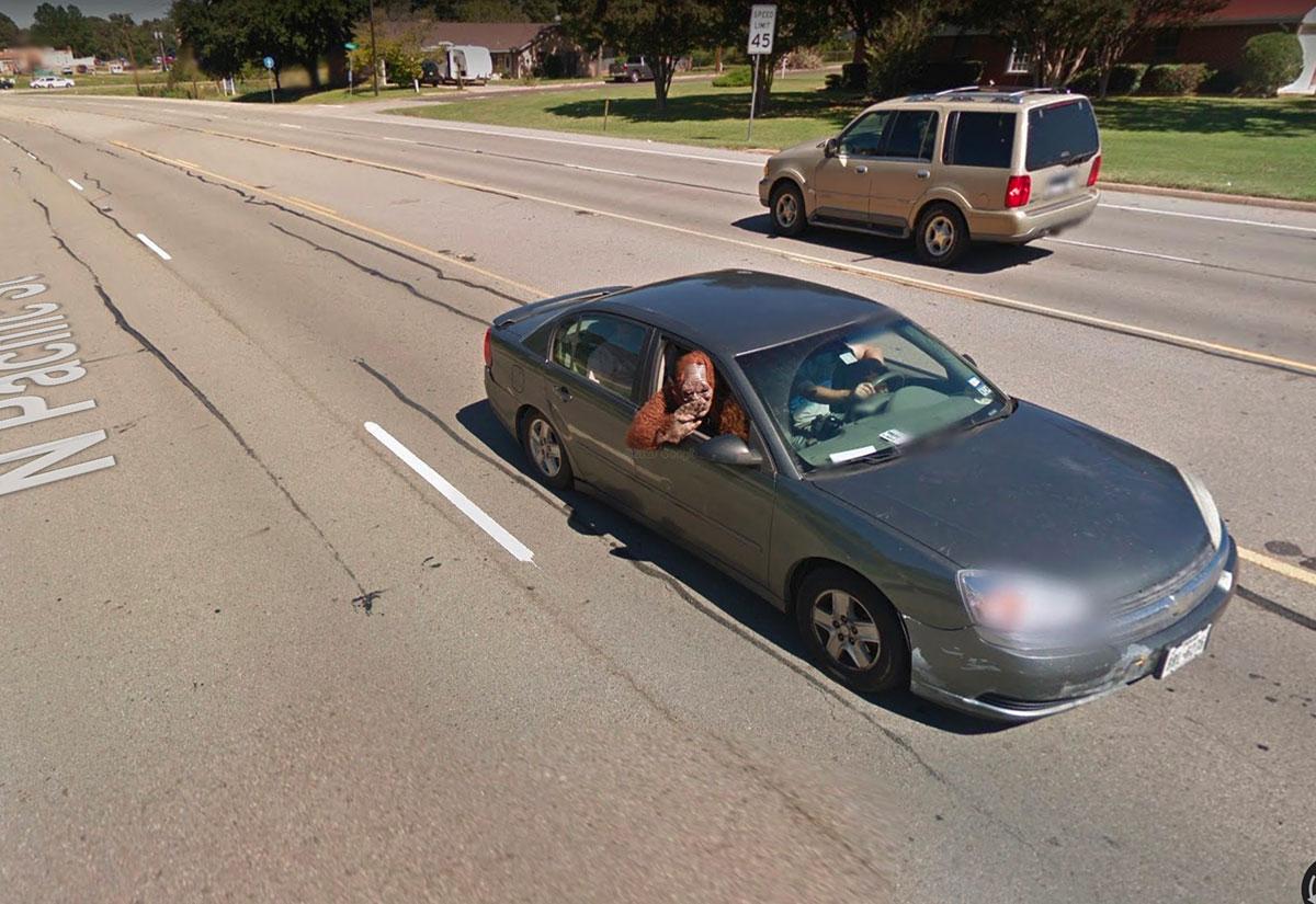 On fait vraiment de drôles de rencontres dans Google Maps