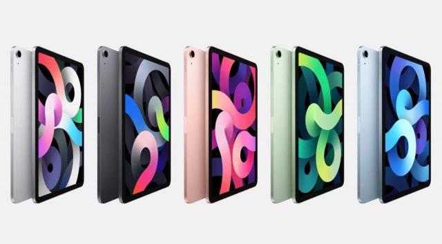 L'iPad Air 4 se décline en plusieurs coloris.