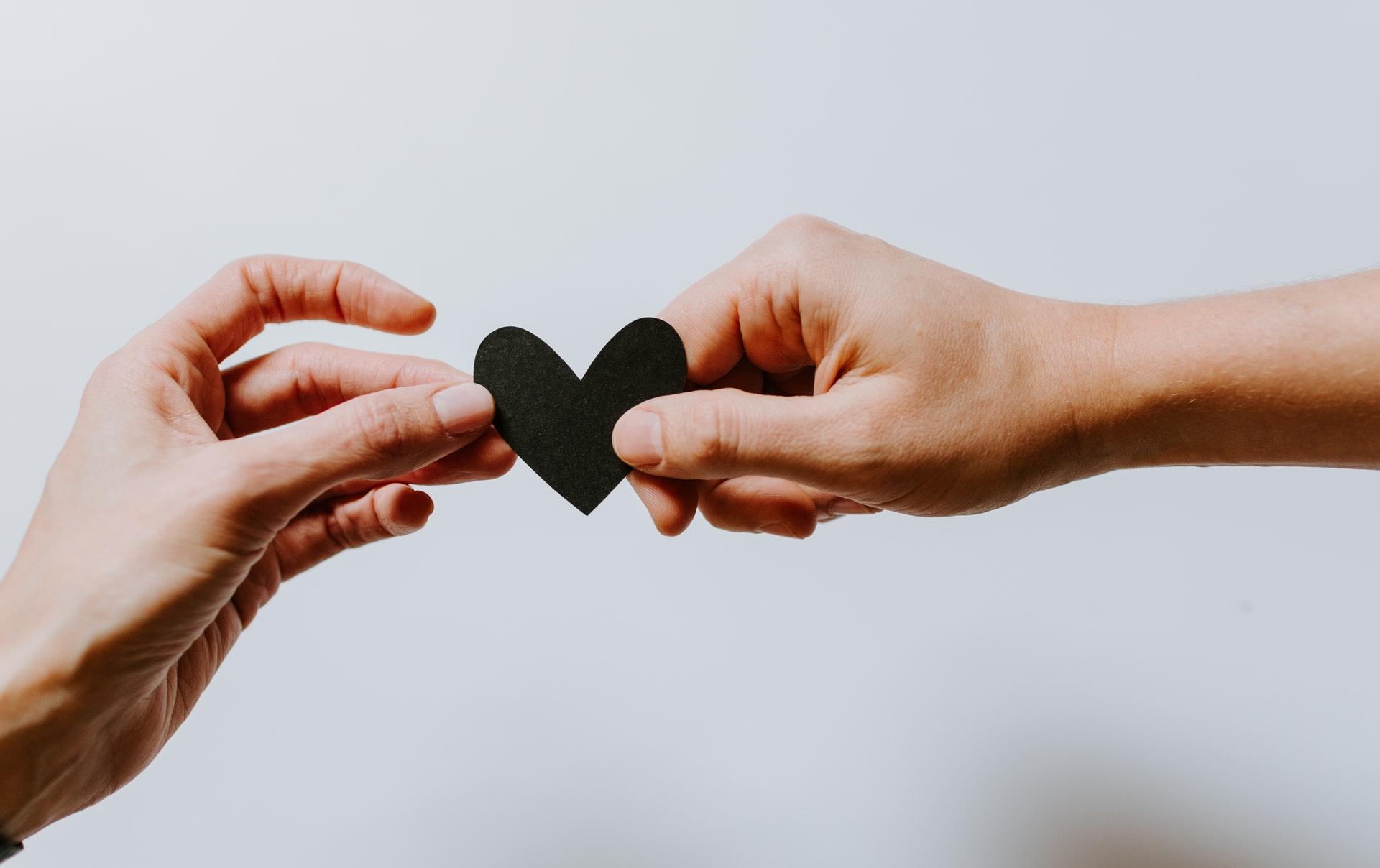 Une photo symbolisant le coeur