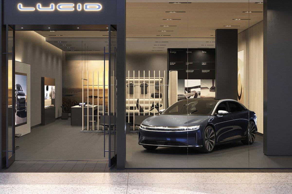 La Lucid Air a été officialisée - crédits Lucid Motors