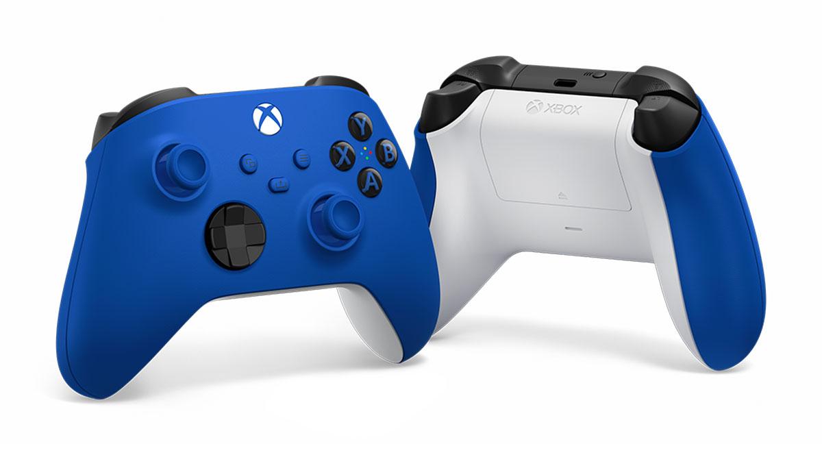 La manette de la Xbox Series X et de la Series S se déclinera aussi en bleue