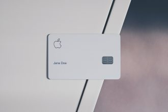 Une Apple Card au nom de Jane Doe