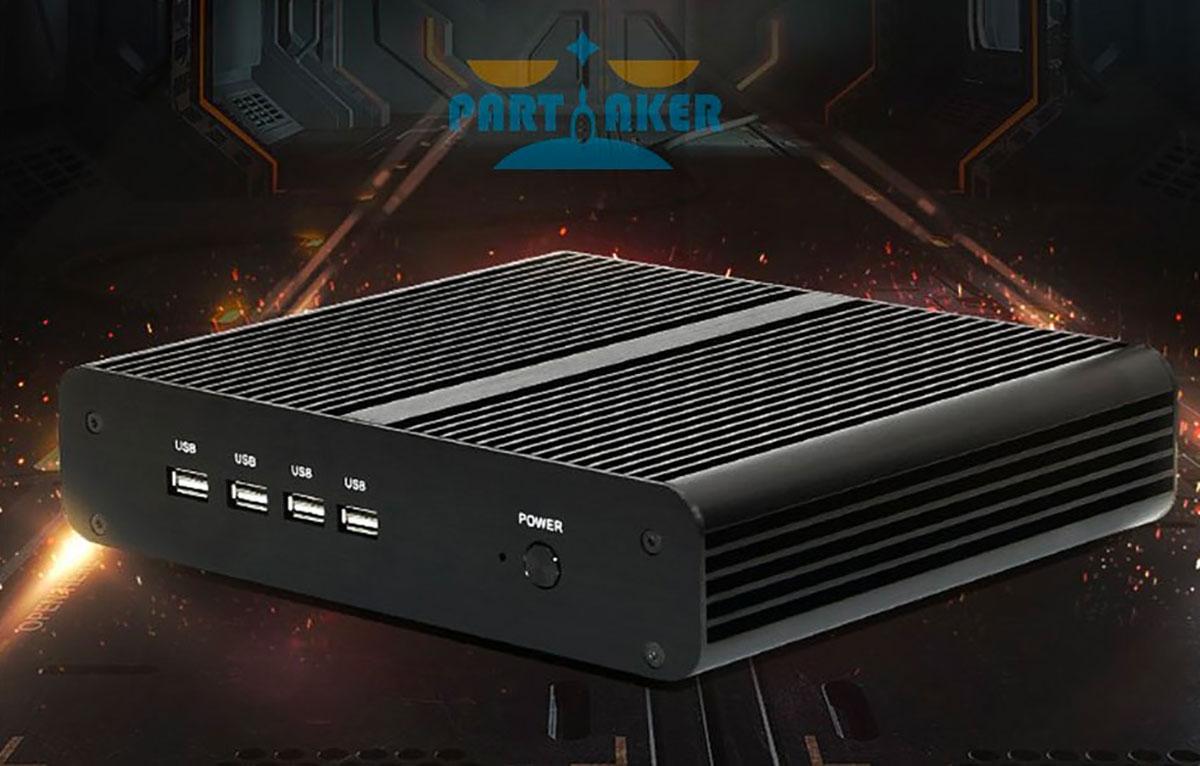 Le  Mini PC Partaker est en promotion