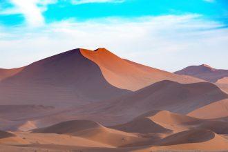 Un paysage de Namibie