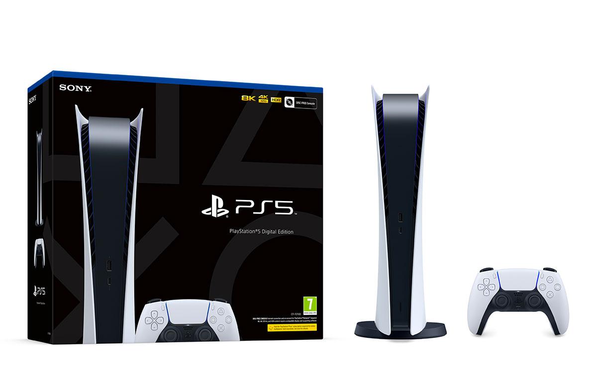 La PlayStation 5 en version digitale
