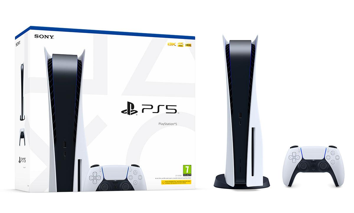La PlayStation 5 avec lecteur optique
