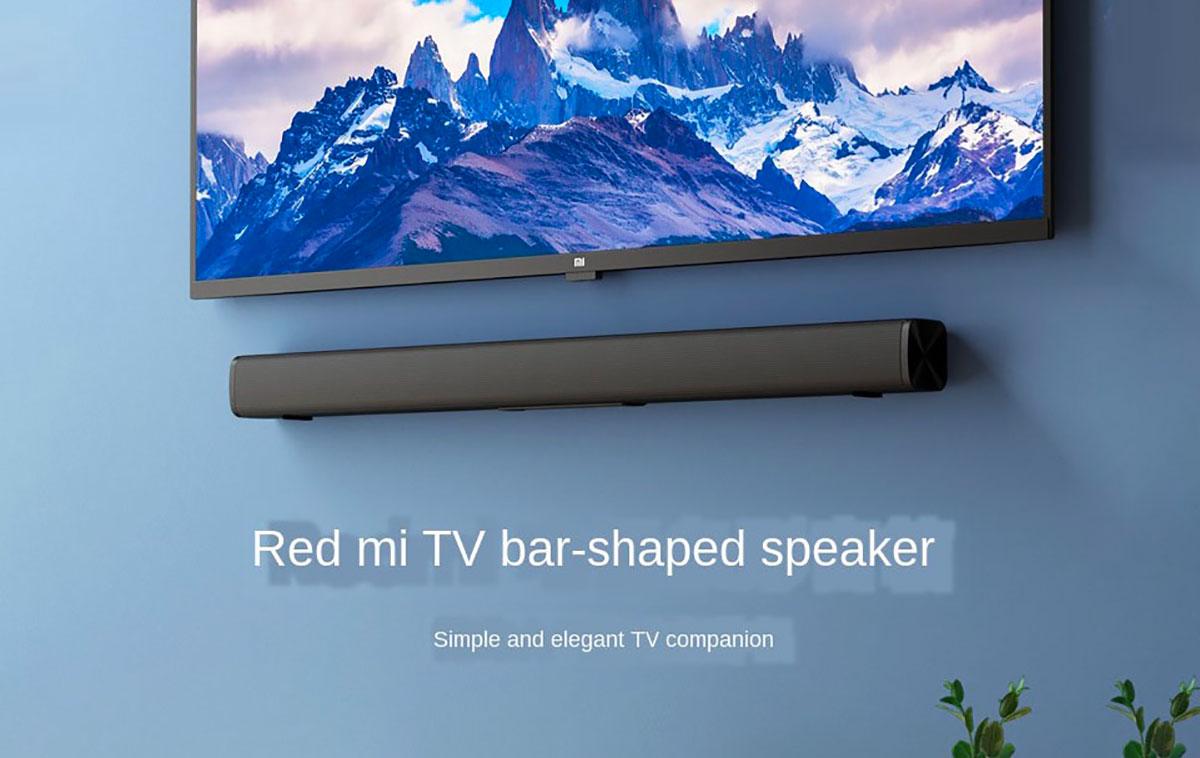 La Xiaomi Redmi TV Bar, une barre de son au prix cassé