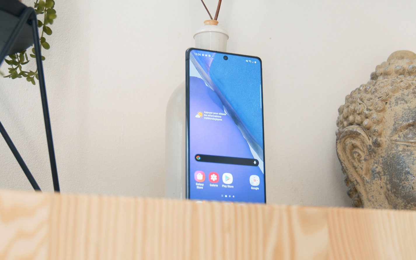 Le Galaxy Note 20 est doté d'un écran plat, et non incurvé