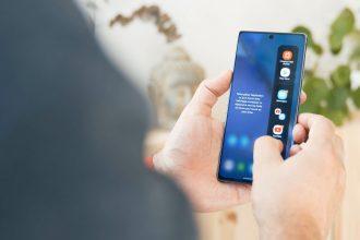 Le Galaxy Note en main