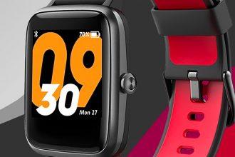 La TicKasa Vibrant, une montre connectée bon marché avec GPS