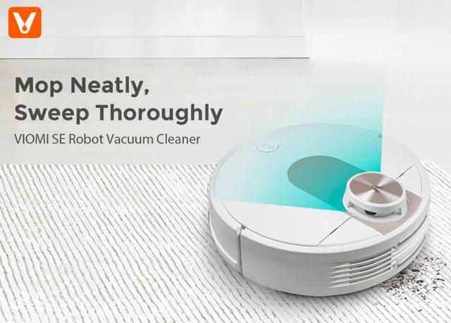 Le VIOMI SE Pro, un robot aspirateur très complet