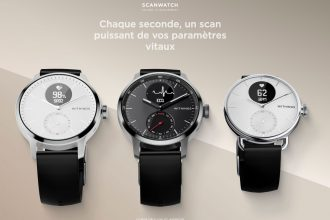 La Withings ScanWatch et ses différentes variantes