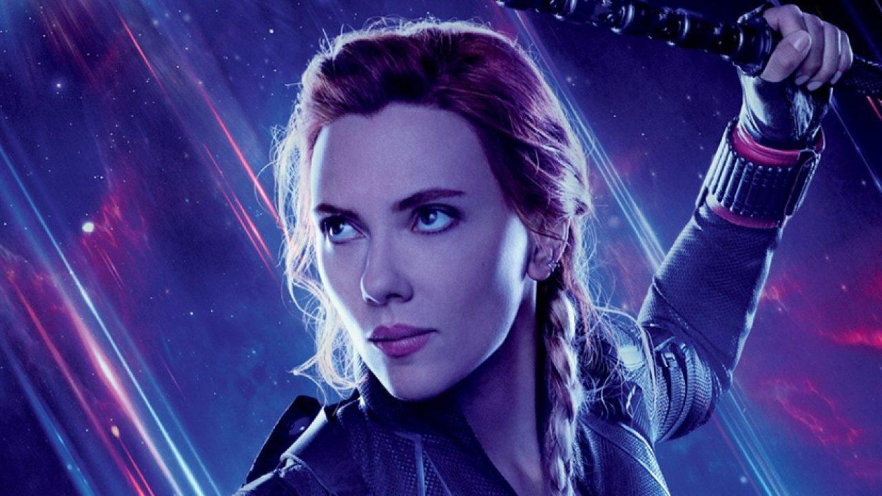 Scarlett Johansson dans le rôle de Black Widow