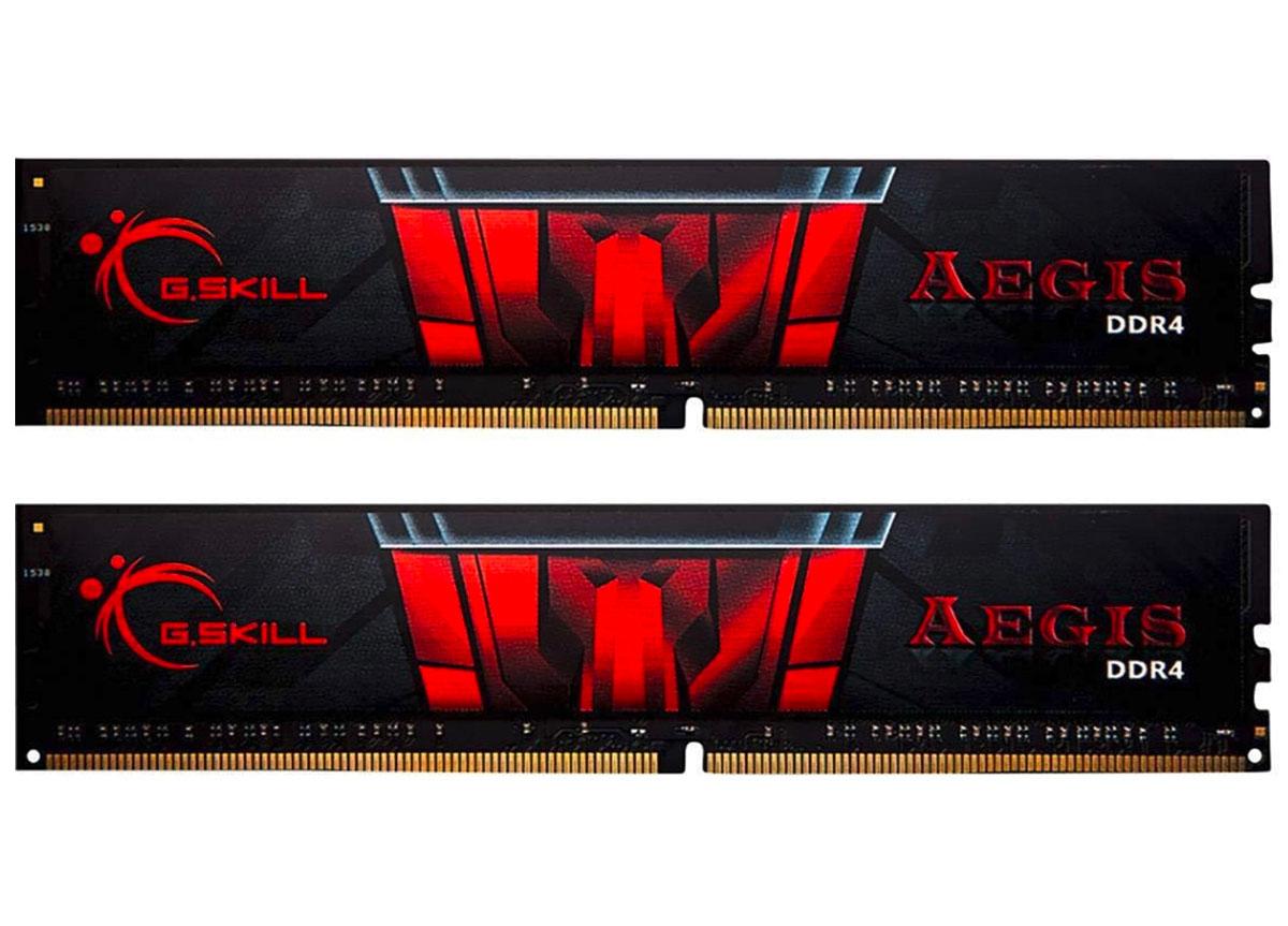 Le Kit G.Skill AEGIS 16 Go RAM en promo