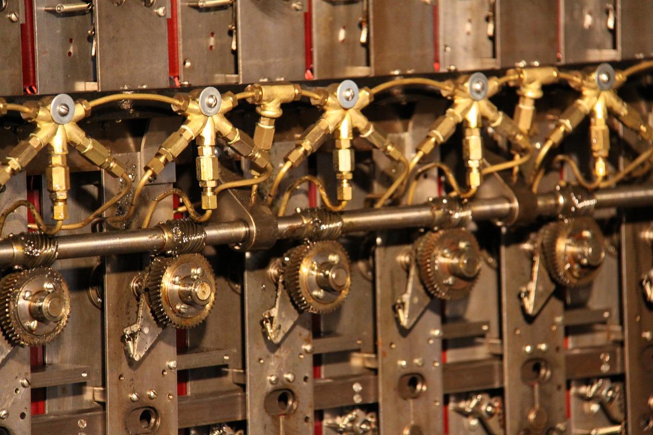 Une machine de décryptage installée à Bletchley Park