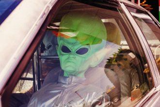 La photo d'un extraterrestre