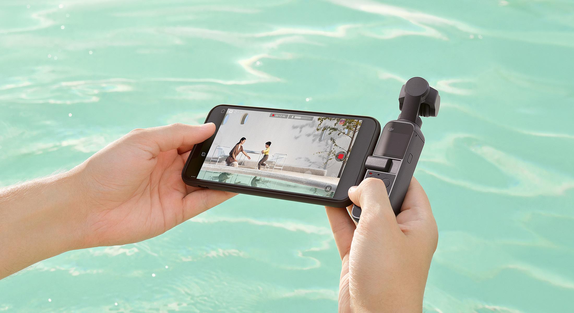 On peut toujours connecter la Pocket 2 à un smartphone