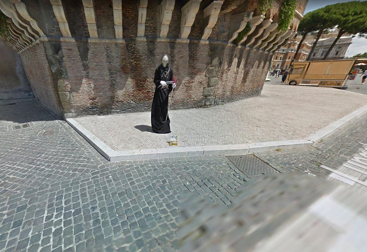 Une autre faucheuse se cache dans Google Maps