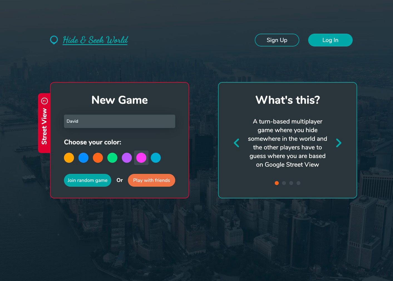 Hide & Seek World, un jeu de cache cache qui exploite Google Street View