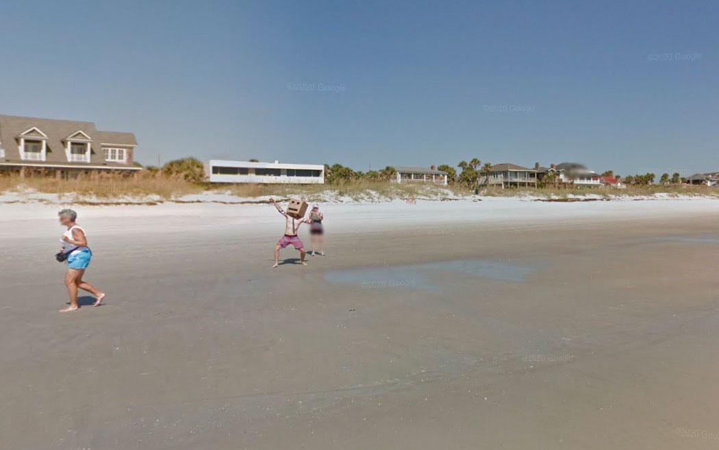 On tombe parfois sur de drôles de types sur Google Maps
