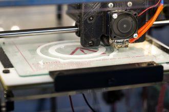 Une imprimante 3D en action