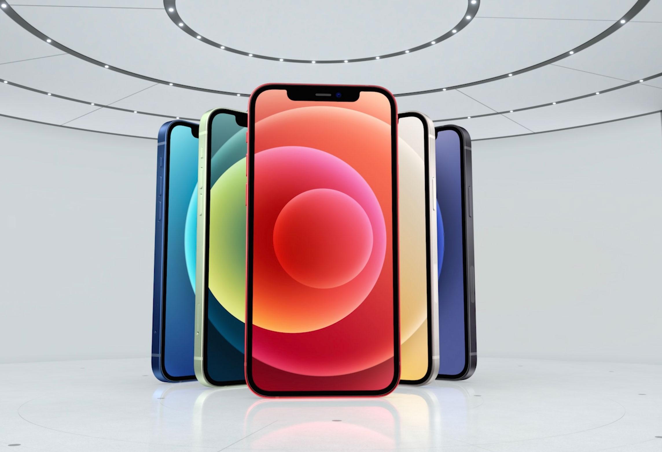 L'iPhone 12 se décline en plusieurs coloris