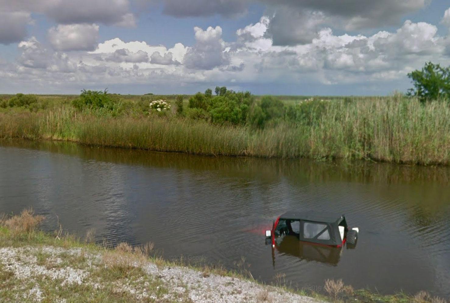 Mais comment cette Jeep a-t-elle bien pu se retrouver dans cette situation ?