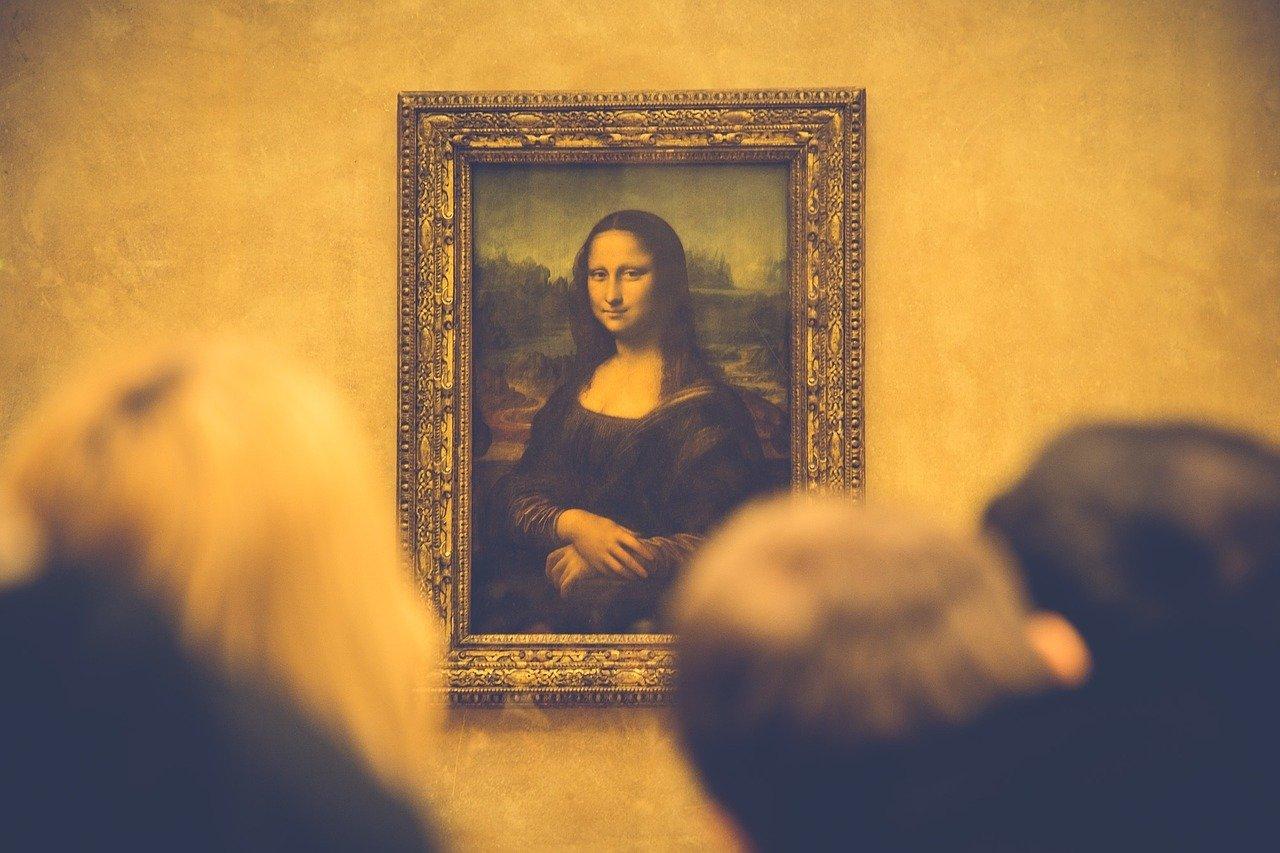 UNe photo de La Joconde de Léonard de Vinci
