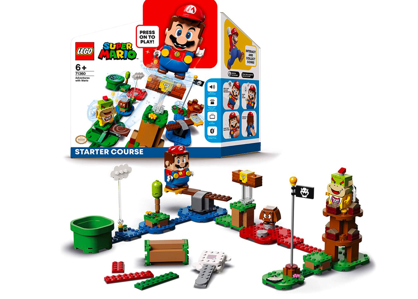 Le pack LEGO Mario est en promo