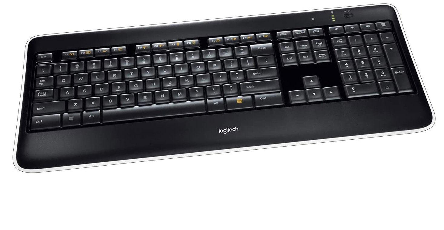 Le Logitech K800, un clavier très complet