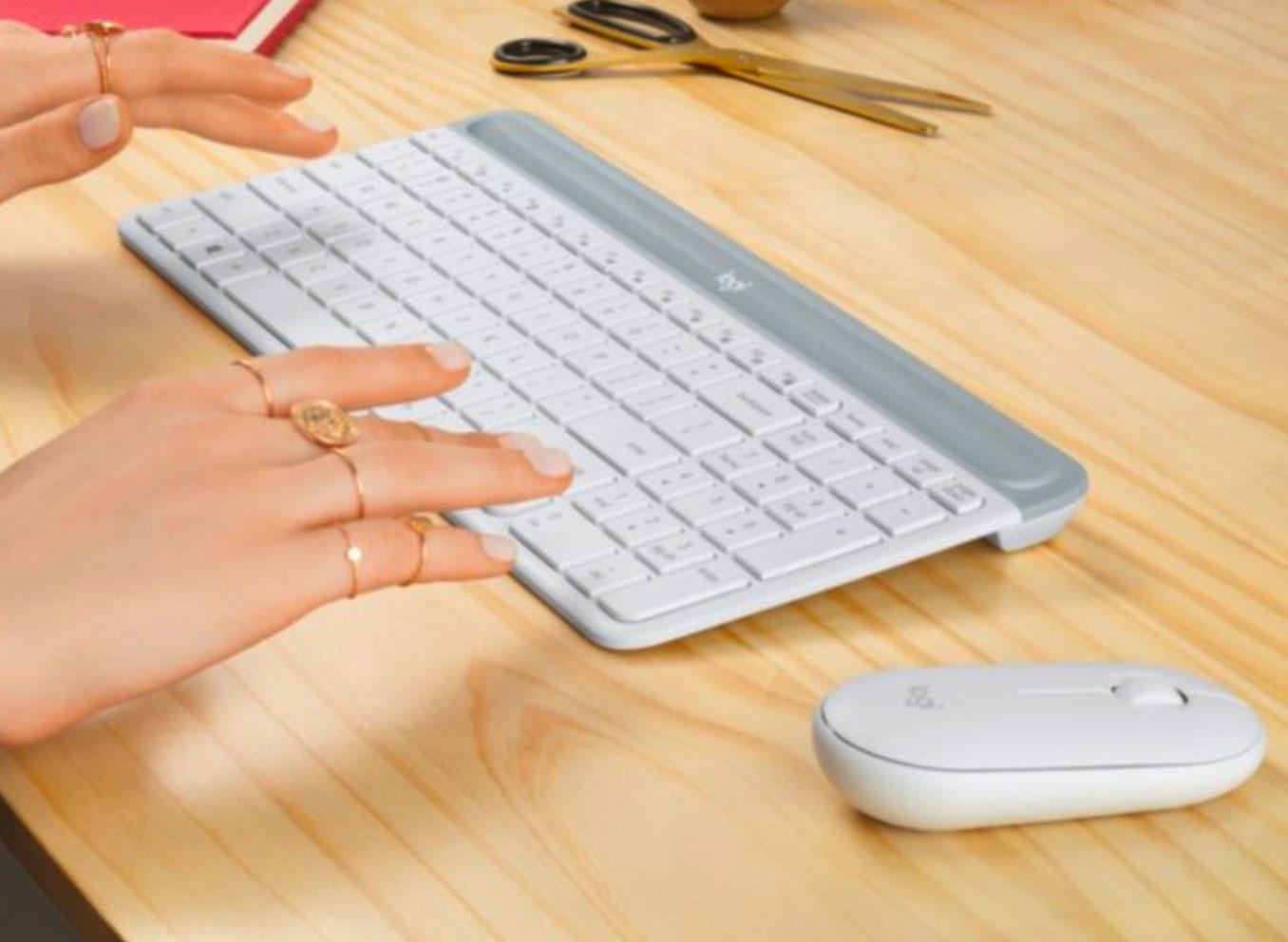 Le Logitech MK470, un combo souris/clavier très sympa