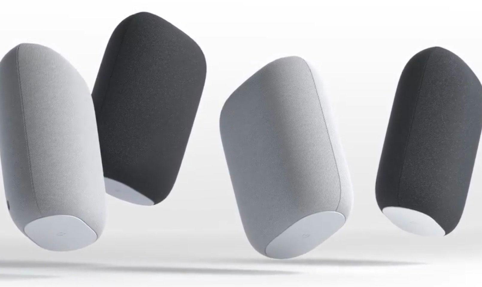 En France, la Nest Audio se décline en deux couleurs