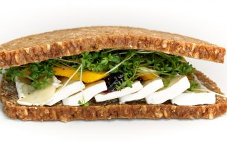 Photo d'un sandwich au fromage