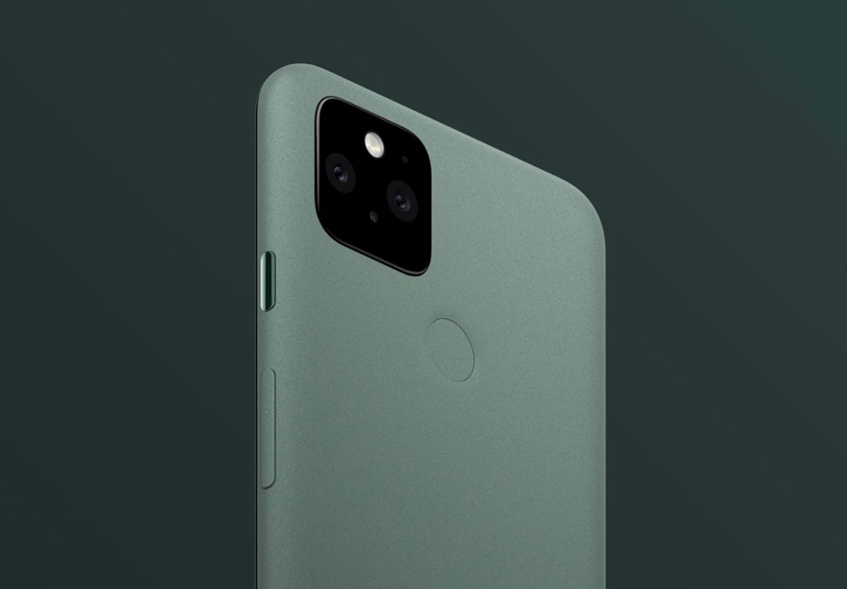 Le Pixel 5 en version sauge