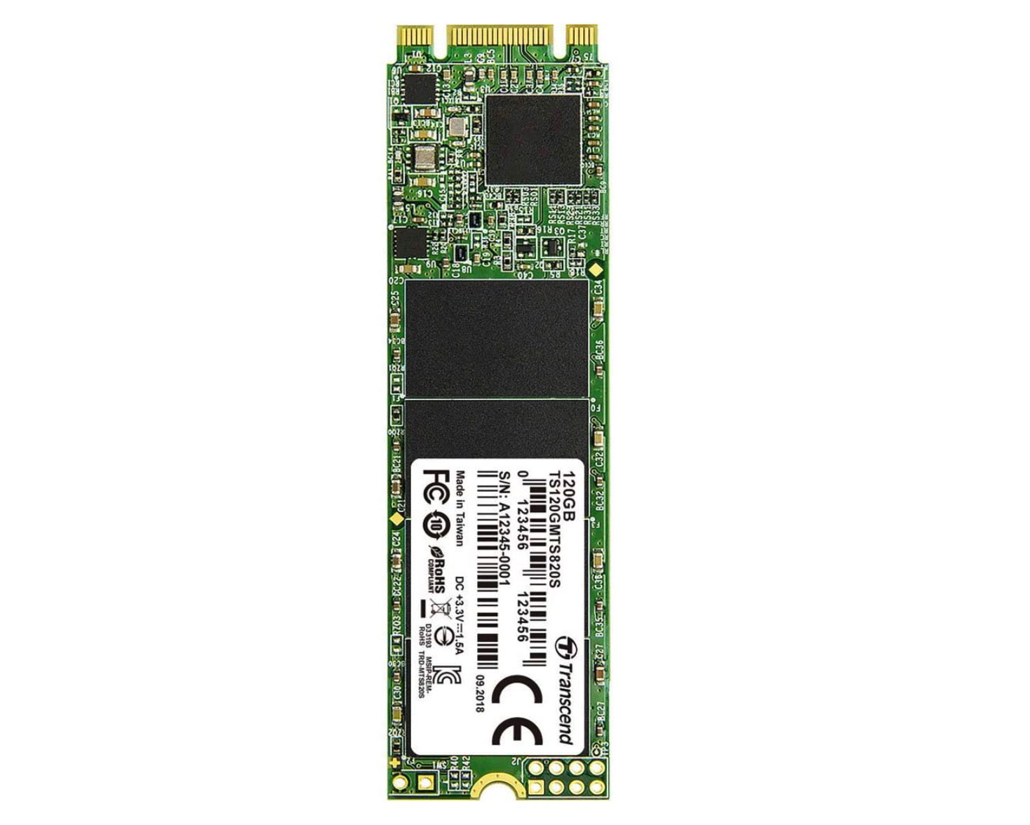 Le SSD M.2 Transcend Type 2280