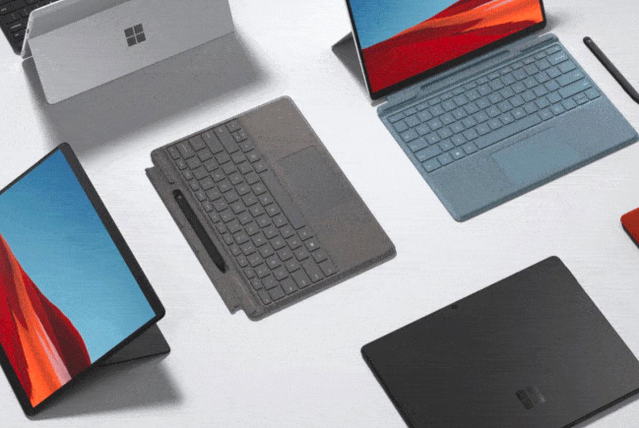 La Surface Pro X se décline désormais en deux couleurs