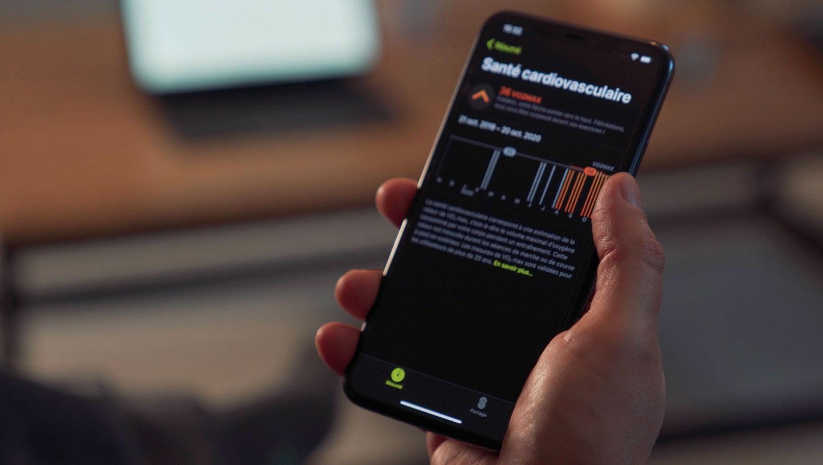 Grâce à l'Apple Watch Series 6, on peut surveiller d'un peu plus près notre coeur