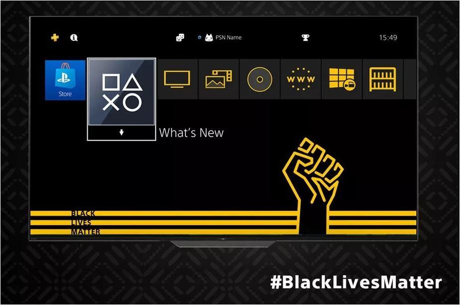 theme Black Lives Matter PS4