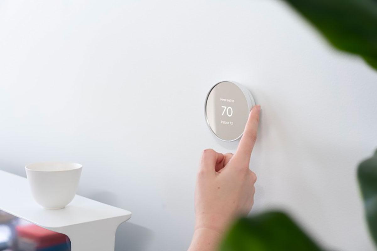 Le nouveau thermostat de Nest est doté d'un look plus épuré