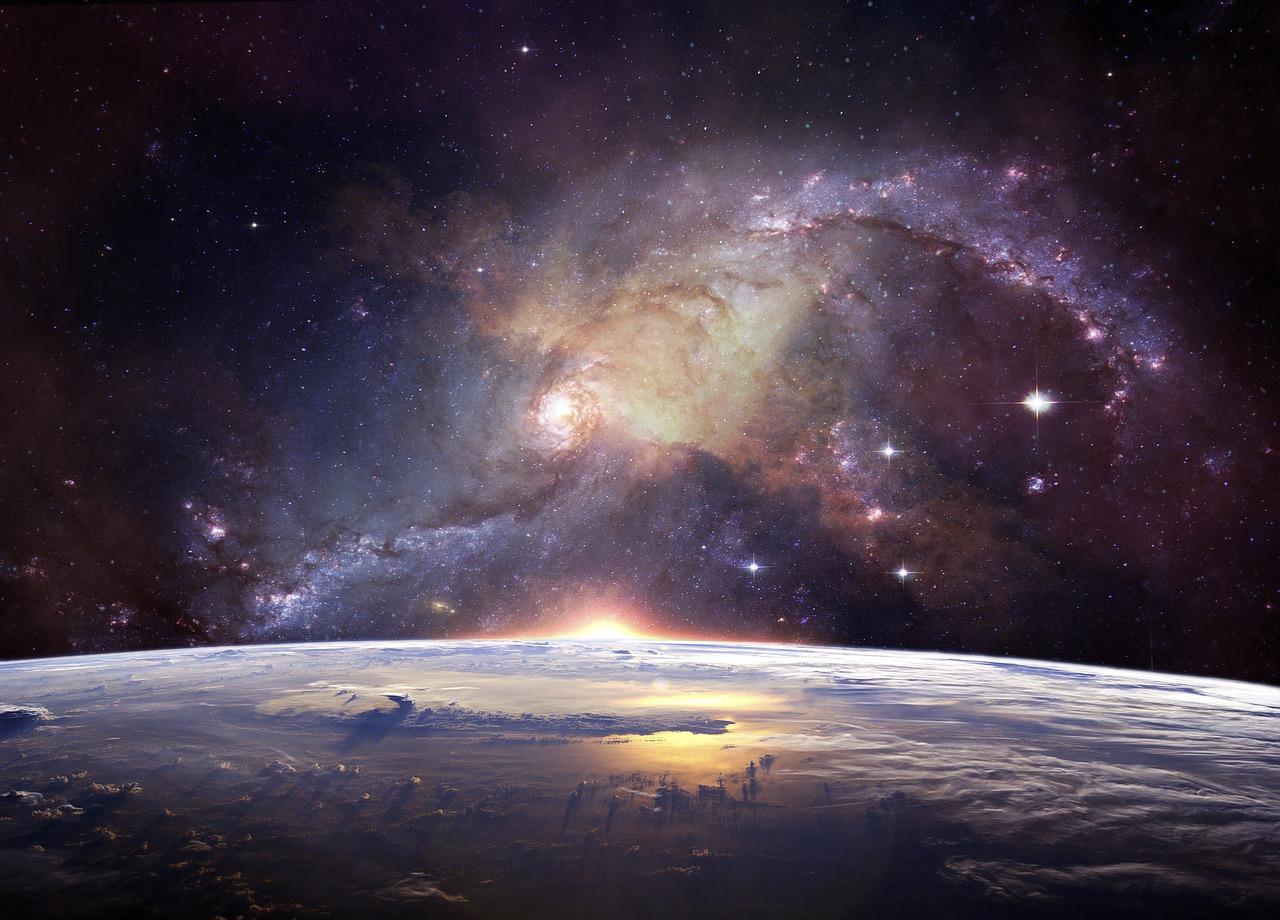 Une vue de l'orbite terrestre