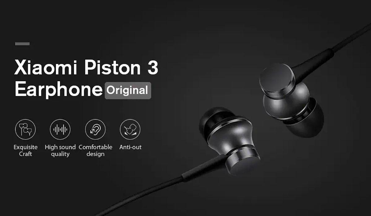 Les Piston 3 de Xiaomi sont à prix réduit